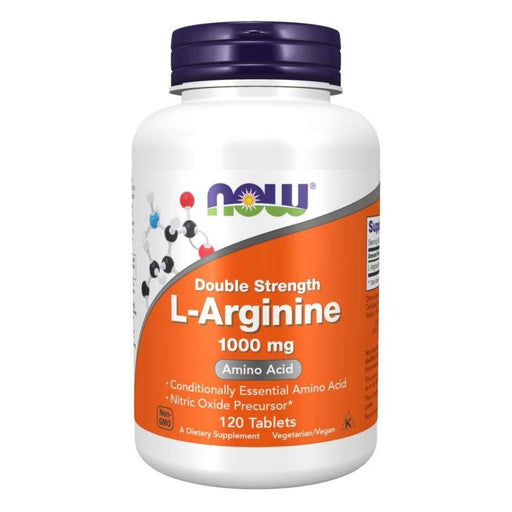Now Foods Sports Nutrition & More Now Foods L-Arginine 1000mg 120 Tabs