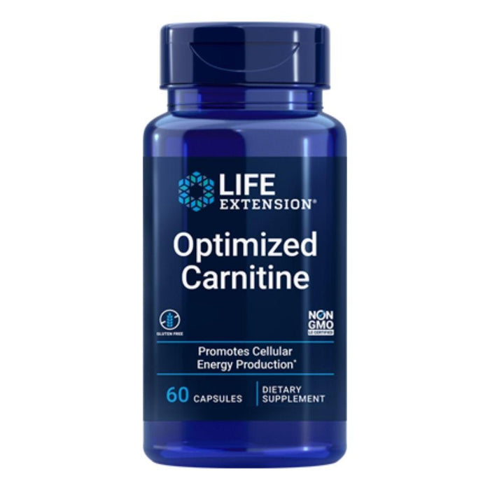 Life Extension Fat Burner Default Life Extension Optimized Carnitine 60 Vegetable Capsules (1871398830124)