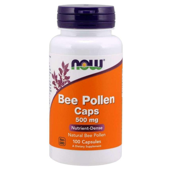 Now Foods Specialty Health Products Default Now Foods Bee Pollen 250 Capsules (1819366260780)