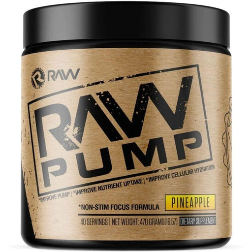 Raw Nitric Oxide Pineapple RAW Pump 40 Servings