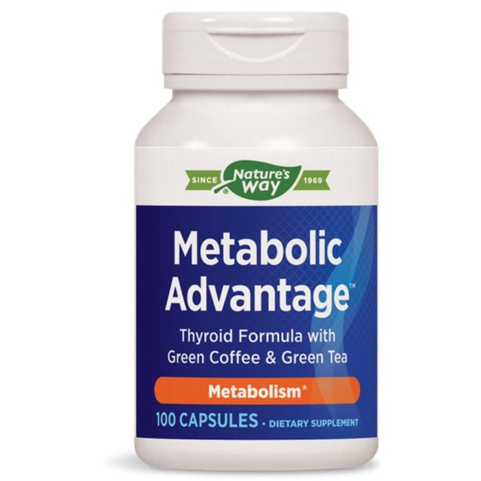 Enzymatic Therapy Vitamins, Minerals, Herbs & More Nature's Way Metabolic Advantage 100 Capsules (580573560876)