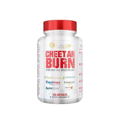 Alpha Lion Fat Burner Alpha Lion Cheetah Burn 120 Capsules (4552041136243)