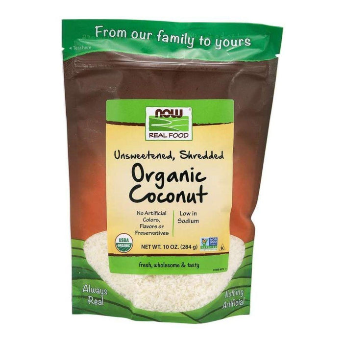 Now Foods Special Orders Default Now Foods Unsweetened Shredded Coconut 10oz (1819370389548)