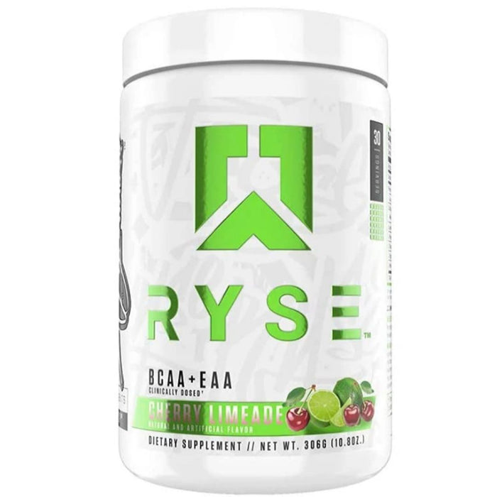 Ryse Supplements Amino Acids Cherry Limeade Ryse BCAA + EAA 30 Servings (4472453267571)