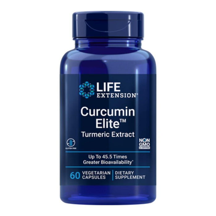 Life Extension Herbs Life Extension Curcumin Elite Turmeric Extract 60 Capsules (4252402614316)