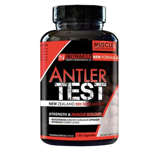 Nutrakey Sports Performance Recovery NutraKey Antler Test 120 Capsules (4433215422579)