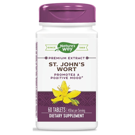 Enzymatic Therapy Herbs ET ST JOHNS WORT 60T (4360262156403)