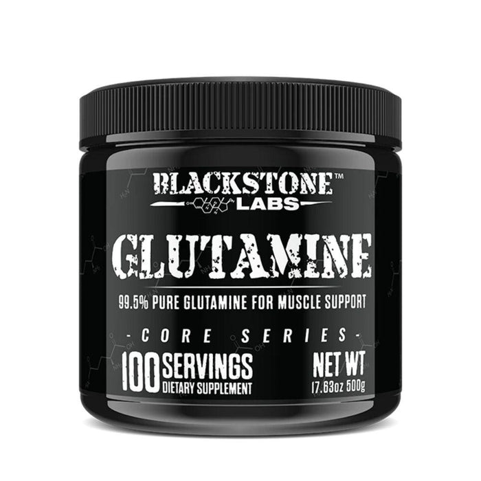 Blackstone Labs Amino Acids Blackstone Labs Glutamine 500 Grams (4604666544243)