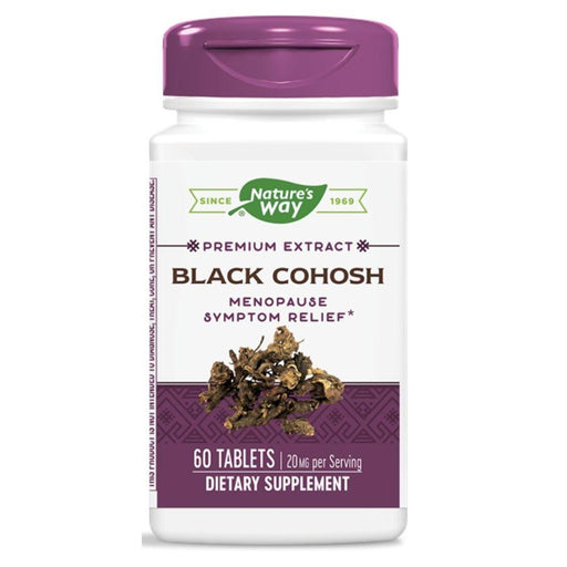 Enzymatic Therapy Vitamins, Minerals, Herbs & More Enzymatic Therapy Black Cohosh 60 Tabs (580762009644)