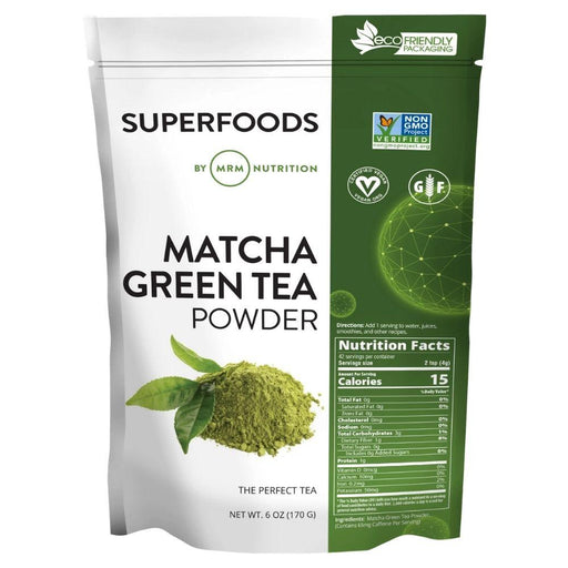 MRM Specialty Health Products MRM Raw Matcha Green Tea