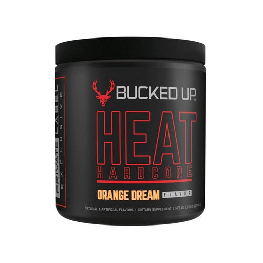 Bucked Up Fat Burner Orange Dream BUCKED UP HEAT HARDCORE 30/SV (4541735305331)