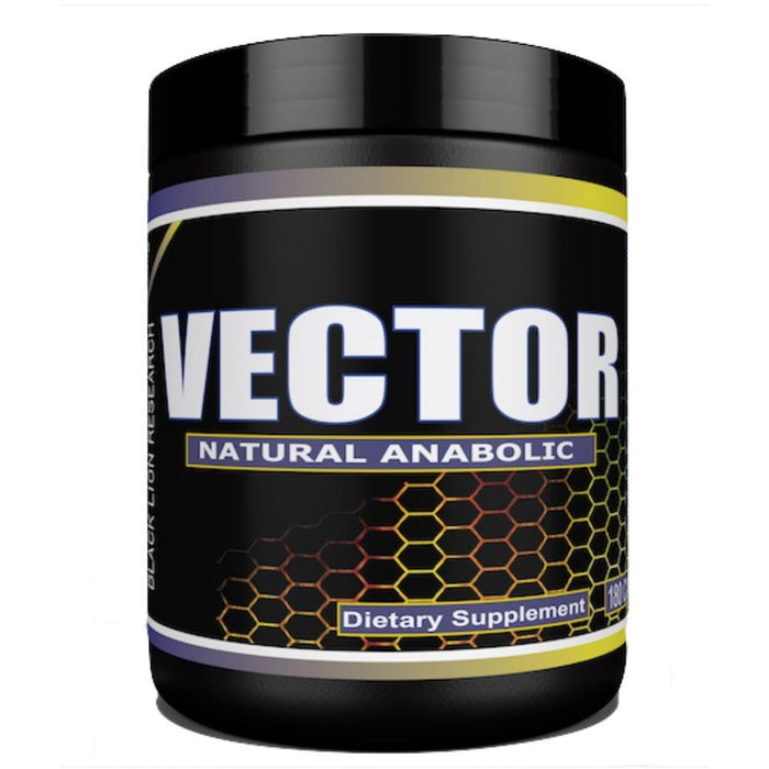 Black Lion Prohormones Black Lion Vector Natural Anabolic 30 Servings (4541733011571)