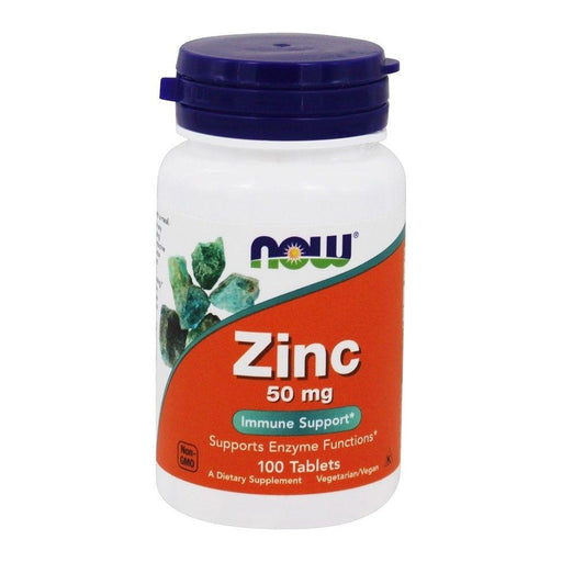 Now Foods Vitamins, Minerals, Herbs & More Now Foods Zinc Gluconate 50 Mg 100 Tablets (582227492908)