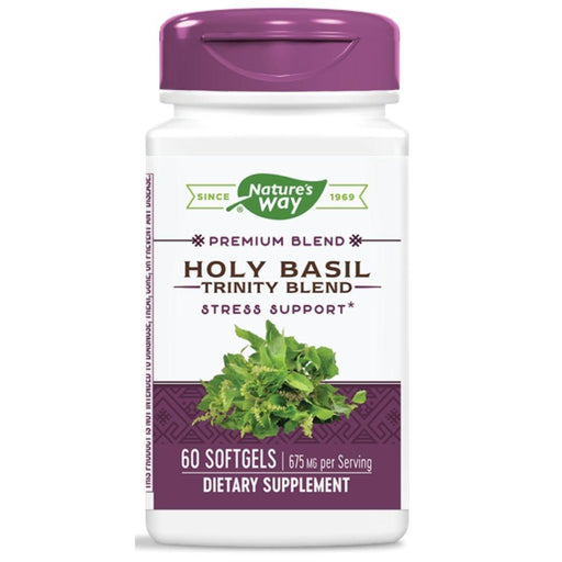 Enzymatic Therapy Herbs Default ET HOLY BASIL 675mg 60G (1785285771308)