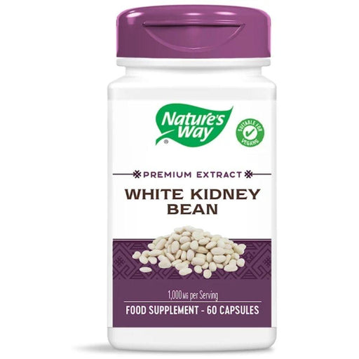 Nature's Way Sports Nutrition & More Nature's Way White Kidney Bean Extract 500mg 60 Caps