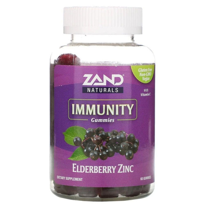Zand Specialty Health Products Zand Elderberry Zinc Gummies 60ct (4597584003187)