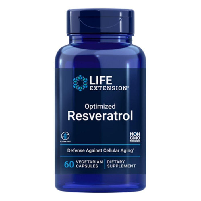 Life Extension Specialty Health Products Default Life Extension Optimized Resveratrol 60 Capsules (1871398928428)