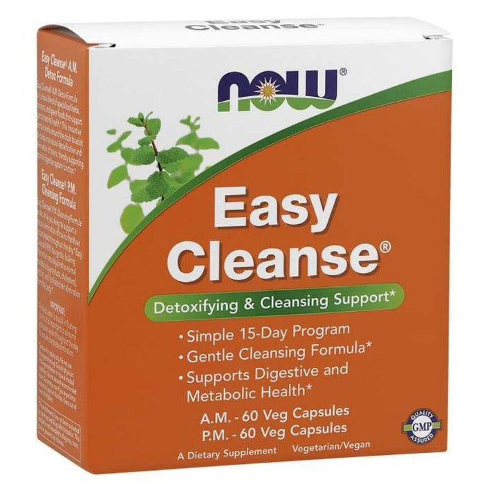 Now Foods Specialty Health Products Default Now Foods Easy Cleanse AM / PM 15 Day Cleanse Program (1819382415404)