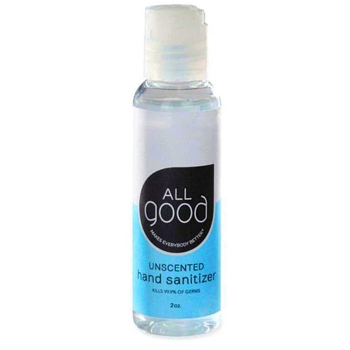 All Good Personal Care& - Hygeine All Good Hand Sanitizer Gel Unscented 2oz (4488210284659)