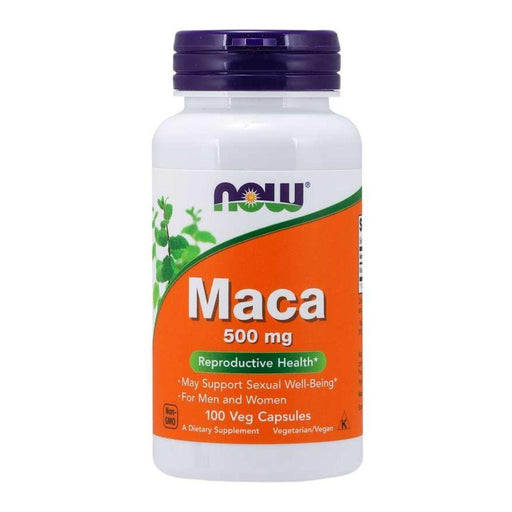 Now Foods Vitamins, Minerals, Herbs & More Now Foods Maca 500mg 100 Caps (580558356524)