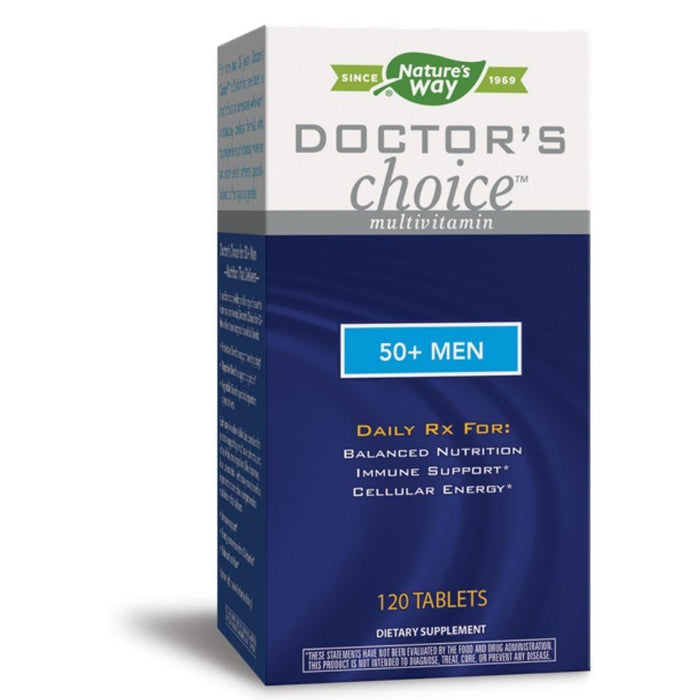 Enzymatic Therapy Vitamins, Minerals, Herbs & More Enzymatic Therapy Doctor's Choice 50+ Men 120 Tablets (581178818604)