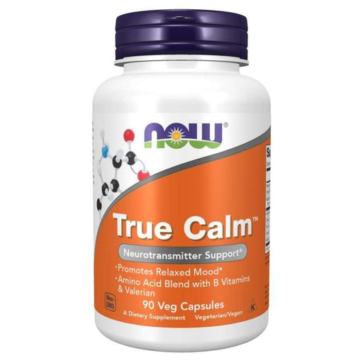 Now Foods Vitamins, Minerals, Herbs & More Now Foods True Calm Amino Relaxer 90 Capsules (582163660844)