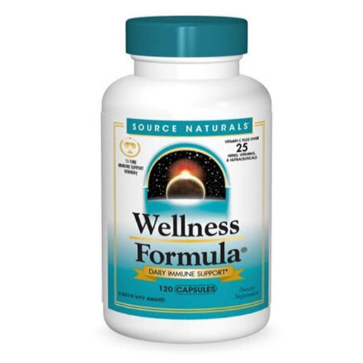 Source Naturals Specialty Health Products Source Naturals Wellness Formula 120 Capsules (4452055711859)