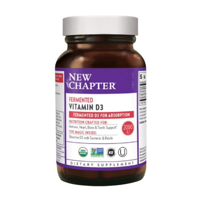 New Chapter Vitamins & Minerals New Chapter Fermented Vitamin D3 30 Tablets