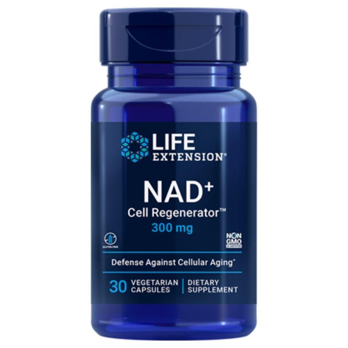 Life Extension Specialty Health Products Life Extension NAD+ Cell Regenerator Nicotinamide Riboside 300mg 30 Capsules (4362357145715)