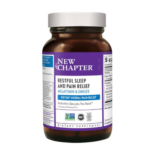 New Chapter Specialty Health Products NCH Restful Sleep and Pain Relief 30vc