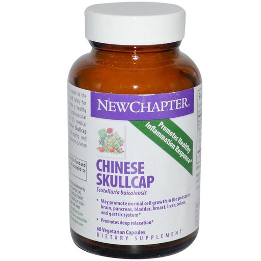 New Chapter Vitamins, Minerals, Herbs & More New Chapter Chinese Skullcap Force 60 Vege Caps