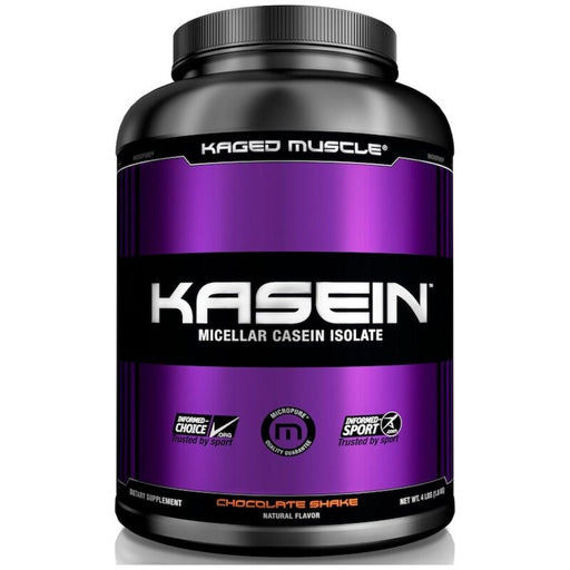 Kaged Muscle Protein Powders Chocolate Kaged Muscle Kasein 2lb (4548505010291)