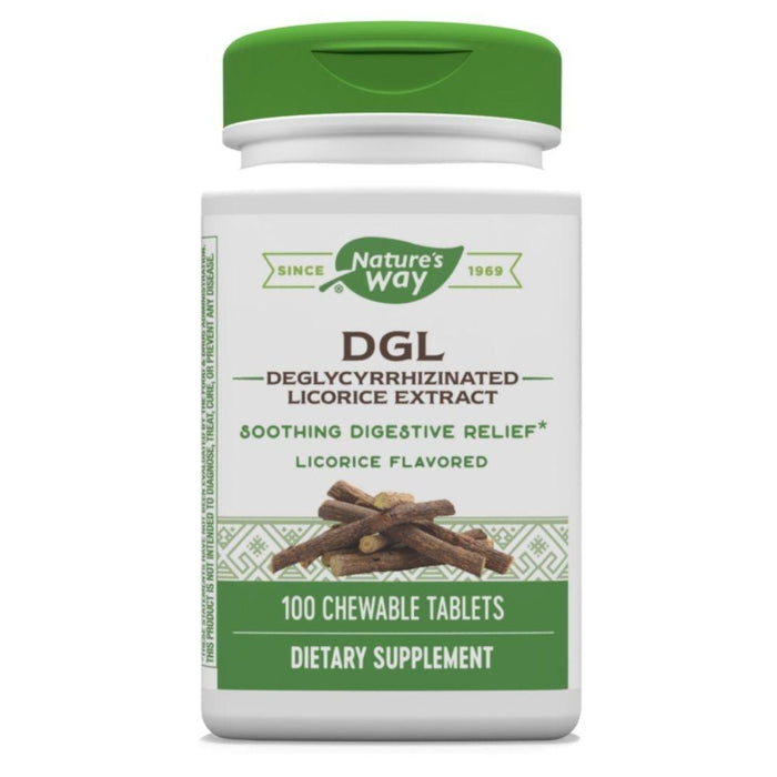 Enzymatic Therapy Vitamins & Minerals Default Nature's Way DGL 100 Chews