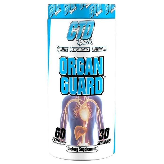 CTD Labs Specialty Health Products Default CTD Sports Organ Guard 60 Capsules