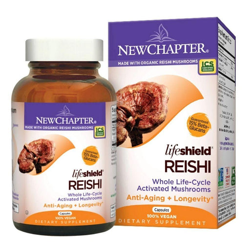 New Chapter Vitamins, Minerals, Herbs & More New Chapter LifeShield Reishi 60 Vege Caps