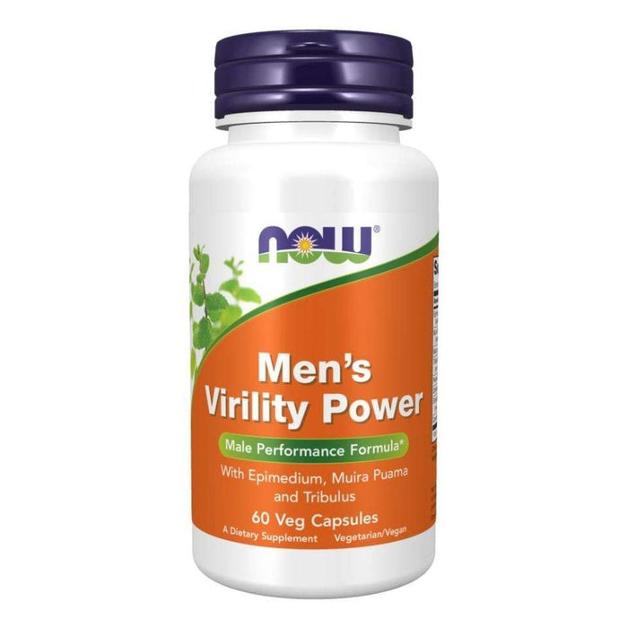 Now Foods Specialty Health Products Default Now Foods Men's Virility Power 120 Capsules (1821082026028)