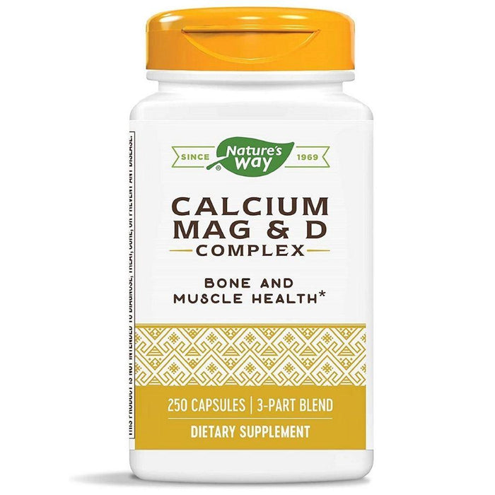 Nature's Way Vitamins & Minerals Nature's Way Calcium Mag & D Complex 250 Capsules
