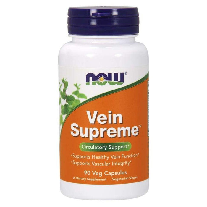 Now Foods Nitric Oxide Default Now Foods Vein Supreme 90 Capsules (1831105232940)