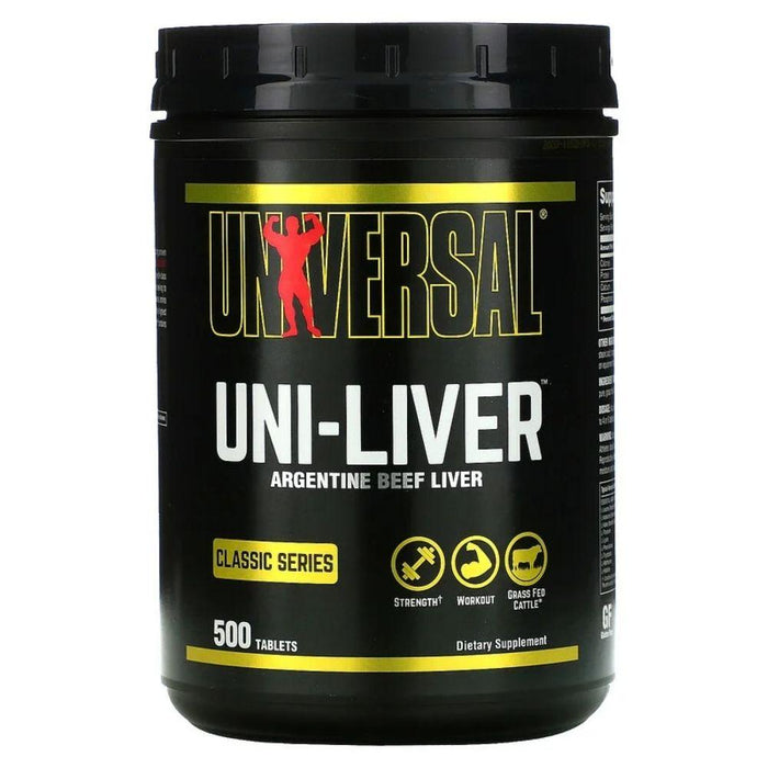 Universal Sports Nutrition & More Universal Uni-Liver 30 grain 500 tabs