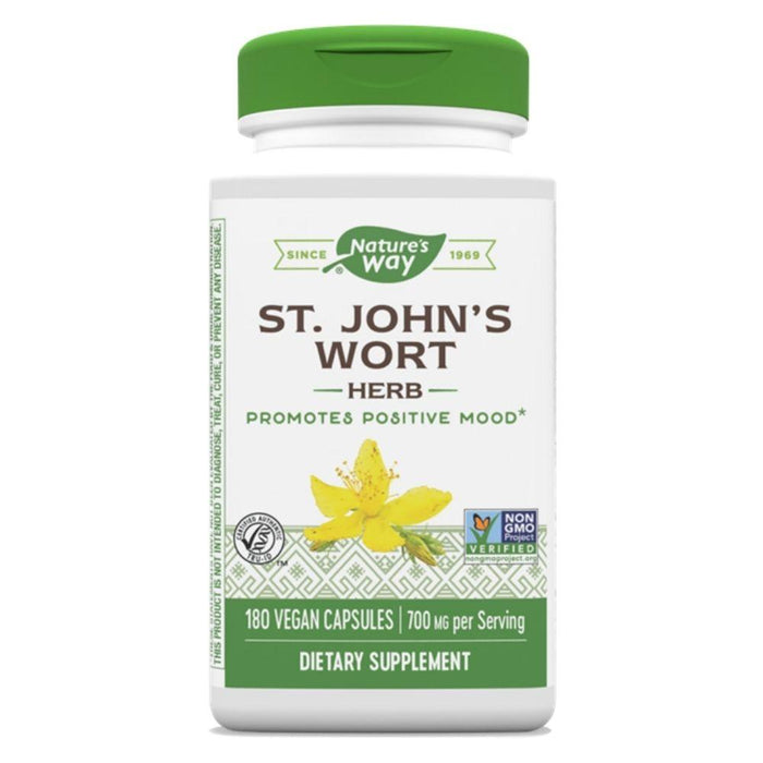 Nature's Way Herbs Nature's Way St Johns Wort 180 Capsules