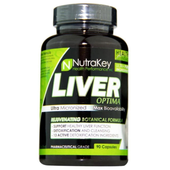 Nutrakey Specialty Health Products NutraKey Liver Optima 90 Capsules (4441487933555)