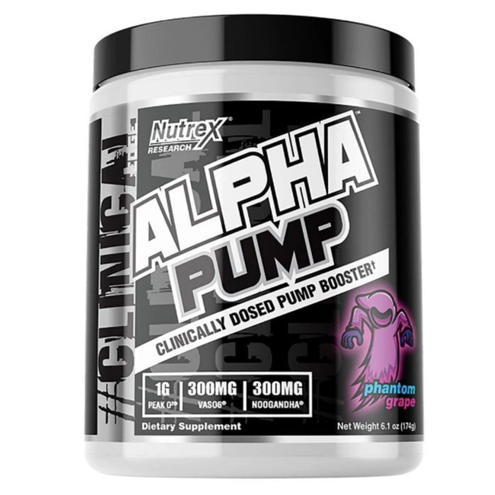 Nutrex Research Pre-Workouts Phantom Grape Nutrex Research Alpha Pump 20 Servings (4293789089836)