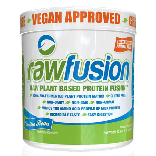 SAN Sports Nutrition & More Rich Chocolate SAN Raw Fusion 15 Servings (581672763436)