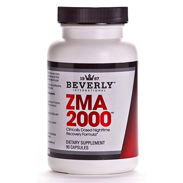 Beverly International Sports Nutrition & More Beverly International ZMA 2000 90 Caps (580666359852)