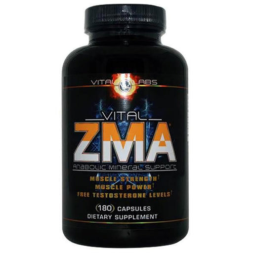 Vital Labs Sports Nutrition & More Vital Labs Vital ZMA 180 Caps (581783846956)