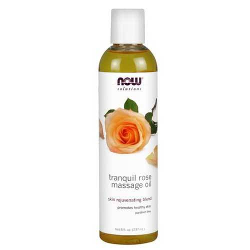 Now Foods Vitamins, Minerals, Herbs & More Now Foods Rose Massage Oil 8 Oz (582262259756)