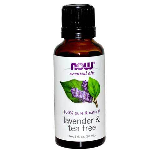 Now Foods Vitamins, Minerals, Herbs & More Now Foods Lavender & Tea Tree Oil 1 Oz (582172049452)