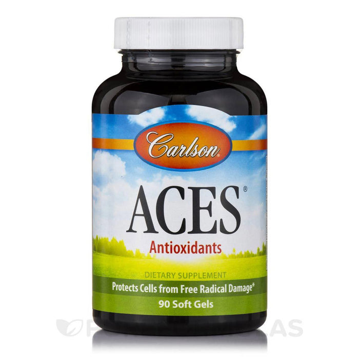 Carlson Vitamins, Minerals, Herbs & More Carlson ACES 90 SoftGels (581116559404)