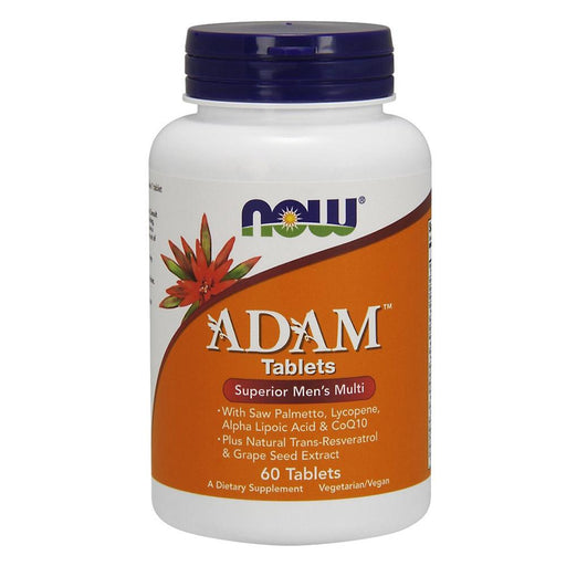 Now Foods Vitamins, Minerals, Herbs & More Now Foods Adam Male Multi 60 Tablets (582200950828)