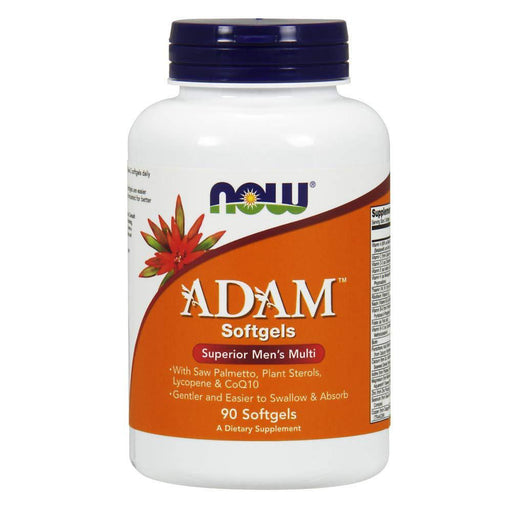 Now Foods Vitamins, Minerals, Herbs & More Now Foods Adam Male Multi 90 Softgels (582154092588)